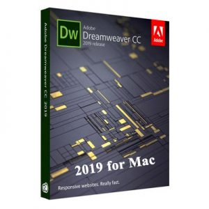 Adobe Dreamweaver CC 2019 for Mac