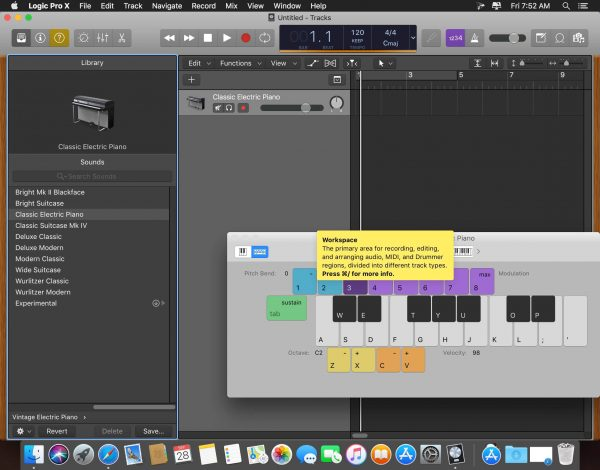 Logic Pro X 10.5 Mac-screenshot 2