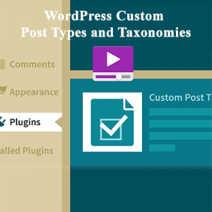 WordPress Custom Post Types and Taxonomies