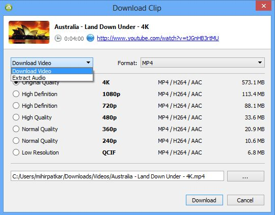 4K Video Downloader 4.13 Final Version for Windows