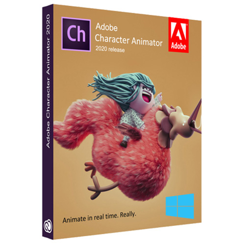 Adobe Character Animator CC 2020 Multilingual (Pre-Activated)