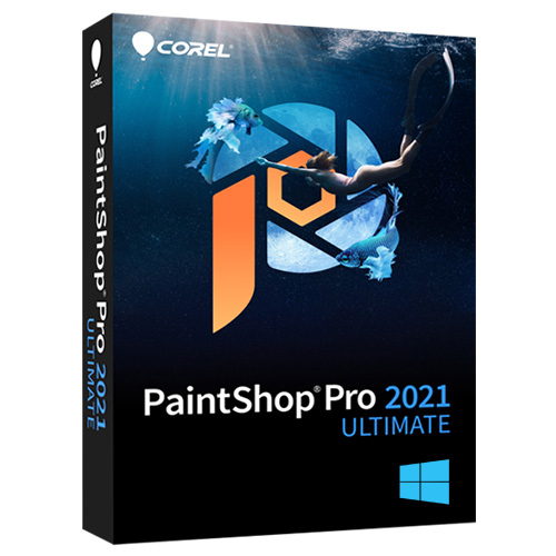 Corel PaintShop Pro 2021 Ultimate Full Version for Windows