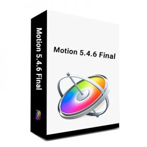 Motion 5.4.6 final for mac
