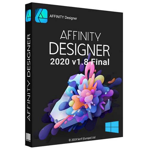 Serif Affinity Designer v1.8 Final Full Version for Windows