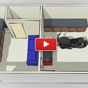 Designing the Ultimate Man-Cave or She-Shed Design in SketchUp