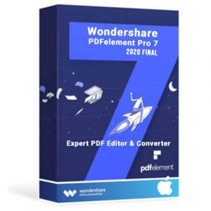Wondershare PDFelement Pro 7.6.1 (2020) Final for Mac