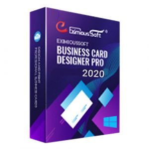 EximiousSoft Business Card Designer Pro 2020 Windows