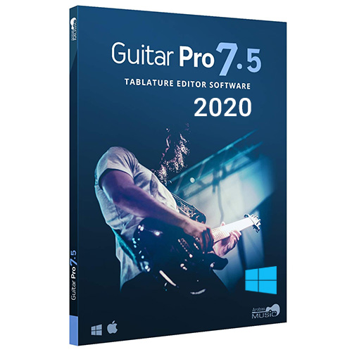 Guitar Pro (2020) v7.5 Multilingual+Soundbanks Full Version