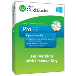 QuickBooks Desktop Pro 2016 Full with License Key