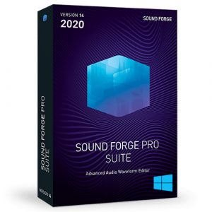 Sony SOUND FORGE Pro Suite (2020) v14 for Windows
