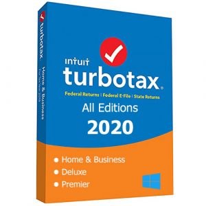 Intuit TurboTax All Editions 2020 with Updates for Windows