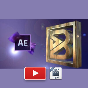 2D 3D Logo Animations with Adobe After Effects