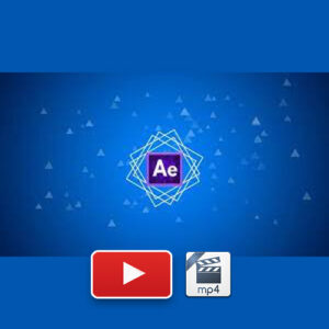 After Effects Learn Logo Reveal or Logo Pop-Up Animation